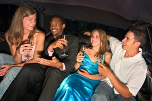 Take a Limo to Christmas and New Year's Party