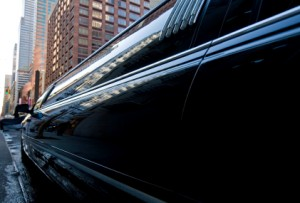 Photo of a Mother's Day limousine