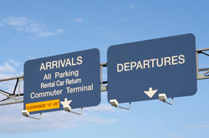 Photo of Toronto Airport signs