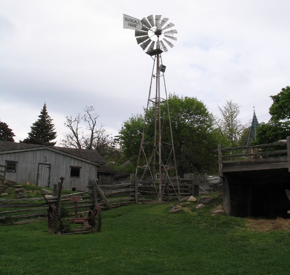 A view of Riverdale Farm