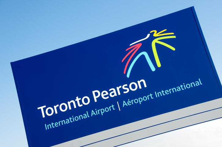 Toronto Pearson Airport Sign