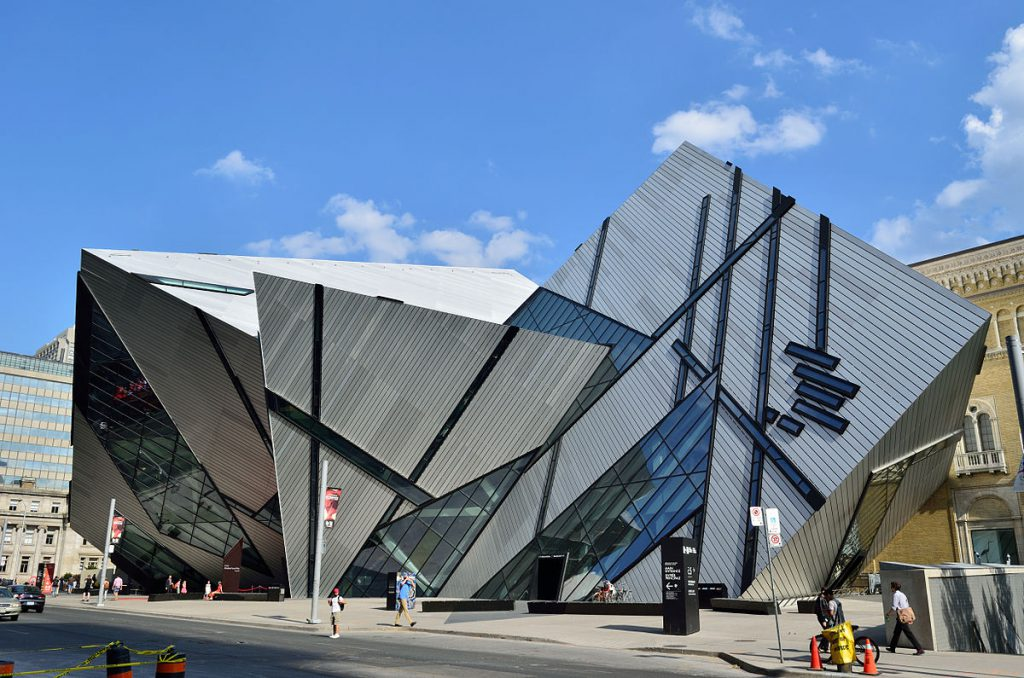 Michael Lee-Chin Crystal of Royal Ontario Museum in Toronto