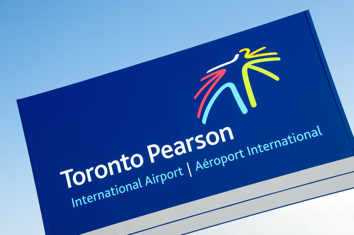 Toronto Pearson Airport Sign