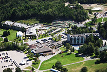 Aerial view of Horseshoe Resort, Ontario