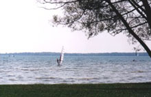 A photo of the Beach in Beaverton, Ontario