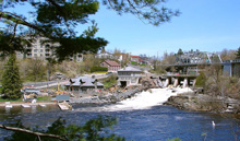 A Photo of a Bridge in Bracebridge, Ontario