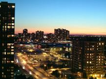 A Photo of a Skyline in Bramalea, Ontario