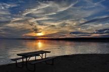 A Photo of a Beach Area in Brighton, Ontario