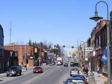 A Photo of a Street in Caledonia, Ontario