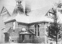 A photo of a public school in Claremont, Ontario