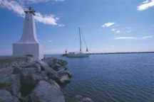 A Photo of a Marina in Cobourg, Ontario