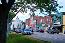 Photo of the Main Street in Colborne, Ontario