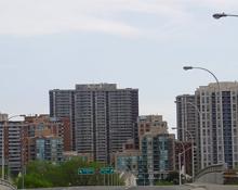 The skyline of Etobicoke, Ontario