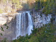 Photo of Eugenia Falls in Grey Highlands, Ontario