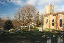 A photo of a church in Holland Landing, Ontario