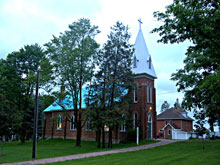 A Photo of a Immaculate Conception Church in North Adjala-Tosorontio
