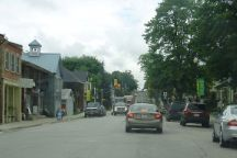 A Photo of a Highway Road in Innisfil, Ontario