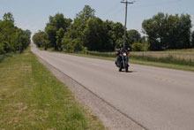 Photo of the open road in Jarvis, Ontario