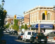 A Photo of Milton, Ontario downtown