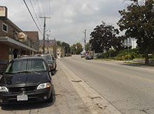 Photo of Nafziger road in Wellesley, Ontario