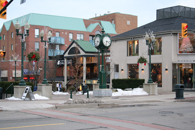 A Photo of Downtown in Oakville, Ontario