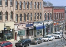 A Photo of a Broadway in Orangeville, Ontario