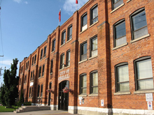 A photo of the City Hall in Orillia, Ontario