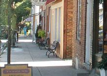 Streetview of Orono, Ontario