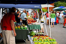 A photo of a town market Pelham, Ontario