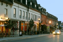 A Photo of a Street in Peterborough, Ontario