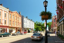A Photo of a Street in Port Hope, Ontario