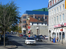 A photo of the Downtown Kingston, Ontario
