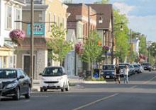 Ridgeway, Ontario downtown