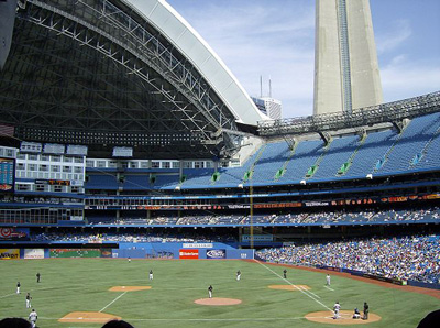 A Photo of Rogers Centre in Toronto, Ontario
