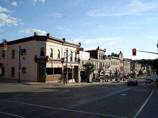 Skyline of St. Marys, Ontario