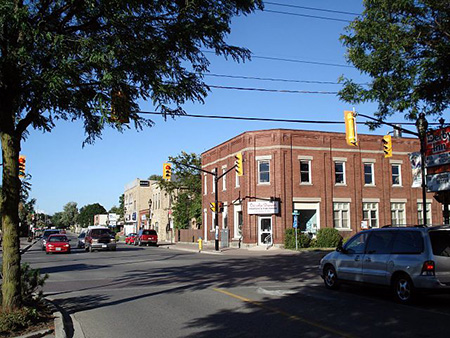 Photo of a Street in Strathroy, Ontario