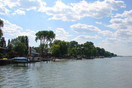 St. Clair Beach (part of Town of Tecumseh), Ontario, Canada