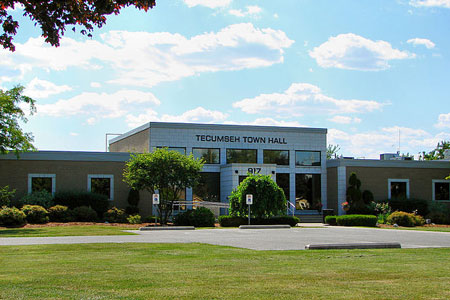 Town Hall of Tecumseh, Ontario, Canada