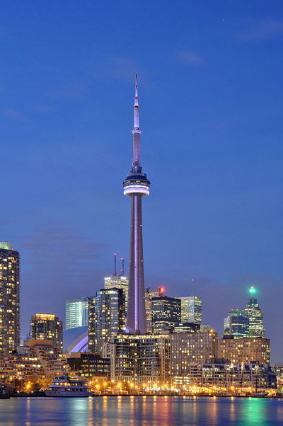 A Photo of CN Tower in Toronto, Ontario