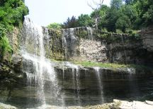 A photo of Waterfall in Waterdown, Ontario