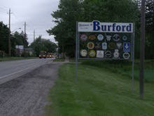 Photo of Welcome to Burford sign